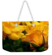 Friendship Roses Weekender Tote Bag by Rona Black