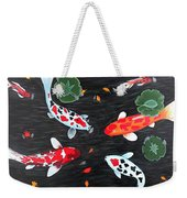 Friendship Underwater Big Commissioned Painting Weekender Tote Bag