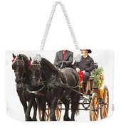 Friesian Carriage Weekender Tote Bag
