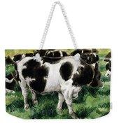Friesian Cows Weekender Tote Bag