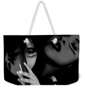Frightened Indifferent Confidence Weekender Tote Bag