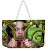 Frightened  Weekender Tote Bag by Semmick Photo