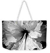 Frills And Hibiscus Flowers Weekender Tote Bag