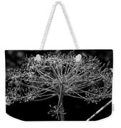 Frills In Black And White Weekender Tote Bag
