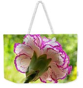 Frilly Carnation Weekender Tote Bag