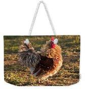 Frizzle Rooster Weekender Tote Bag