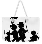 Fr�lich Playing Children Weekender Tote Bag