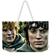 Frodo And Samwise Weekender Tote Bag