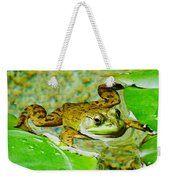 Frog  Abby Aldrich Rockefeller Garden Weekender Tote Bag