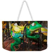 Frog Carrousel Ride Weekender Tote Bag