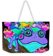Frog Family Too Weekender Tote Bag