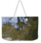 Frog In A Pond Weekender Tote Bag