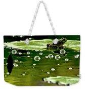 Frog Pond Space Galaxy Weekender Tote Bag
