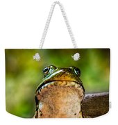 Frog Prince Or So He Thinks Weekender Tote Bag
