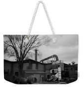 Frog Switch Yard Weekender Tote Bag