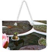 Froggy Throne Weekender Tote Bag