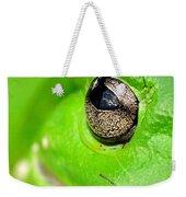 Frog's Eye Weekender Tote Bag by Kaye Menner