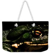 Frog's Eye Of Sauron Weekender Tote Bag