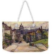 From A Hilltop In San Francisco By  Rowena Meeks Abdy Early California Artist C 1906 Weekender Tote Bag