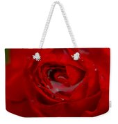 From A Kiss Of Rain Weekender Tote Bag