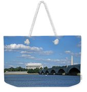 From Across The River Weekender Tote Bag