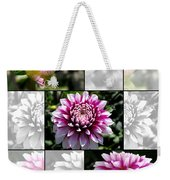 From Bud To Bloom - Dahlia Named Brian Ray Weekender Tote Bag