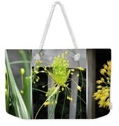 From Bud To Bloom - Fireworks Allium Weekender Tote Bag