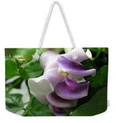 From Bud To Bloom - Phaseolus Caracalla Weekender Tote Bag
