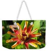 From Bud To Bloom - Zinnia Weekender Tote Bag