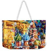 From Moscow To Paris Weekender Tote Bag