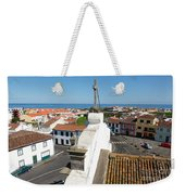 From The Church Tower Weekender Tote Bag