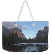 From Valley View At Sunset Weekender Tote Bag