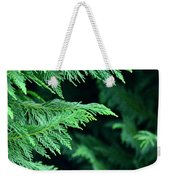 Fronds Of The Leyland Cypress Weekender Tote Bag