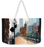 Front And Church Weekender Tote Bag