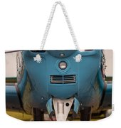 Front Of An Airplane Propeller Weekender Tote Bag