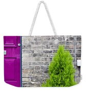 Front Of House Weekender Tote Bag by Tom Gowanlock