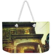 Front Of Old House Weekender Tote Bag by Jill Battaglia