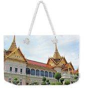 Front Of Reception Hall At Grand Palace Of Thailand In Bangkok Weekender Tote Bag