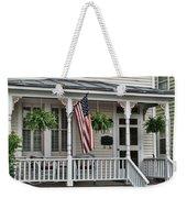 Front Porch Flag Weekender Tote Bag