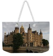 Front View Of Palace Schwerin Weekender Tote Bag