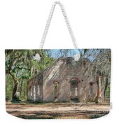 Front View Of The Chapel Of Ease Weekender Tote Bag