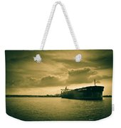 Frontier Ambition Ship Weekender Tote Bag