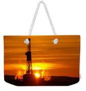 Frontier Nineteen Xto Energy Culbertson Montana Weekender Tote Bag