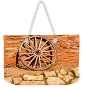 Frontier Wagon Wheel Weekender Tote Bag
