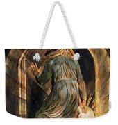 Frontispiece To Jerusalem Weekender Tote Bag by William Blake