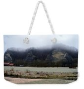 Frost And Fog Weekender Tote Bag