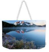 Frost At Paulina Lake Weekender Tote Bag