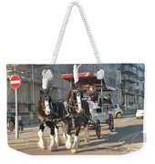 Frost Fair Horses Hastings Weekender Tote Bag