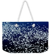 Frost Flakes On Ice - 01 Weekender Tote Bag