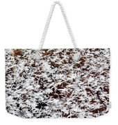 Frost Flakes On Ice - 03 Weekender Tote Bag